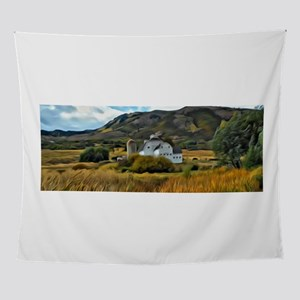 The Farm Outside Park City Wall Tapestry