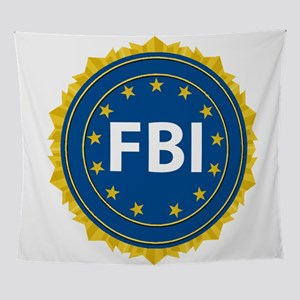 FBI Seal Wall Tapestry
