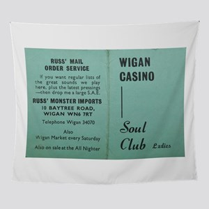 wigan casino NORTHERN SOUL Wall Tapestry