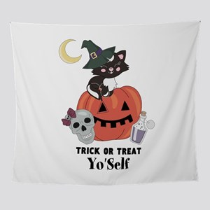 Trick or Treat Yo Self Wall Tapestry
