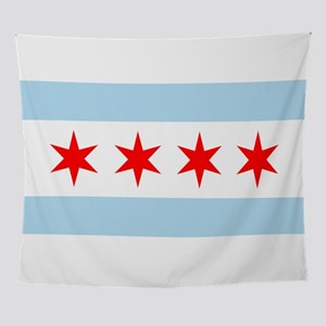 Chicago Flag Wall Tapestry