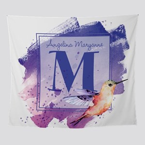 MONOGRAM Artistic Hummingbird Wall Tapestry