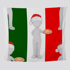 italian christmas Wall Tapestry