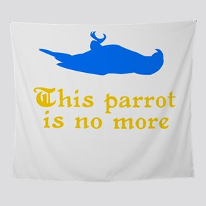 This Parrot Is No More Wall Tapestry