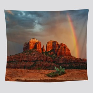 Rainbow In Grand Canyon Wall Tapestry