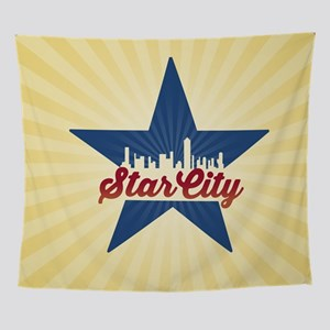 Arrow Star City Wall Tapestry