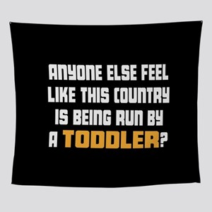 Toddler Trump Wall Tapestry