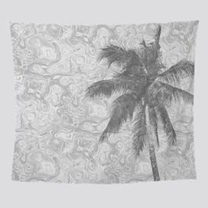 Design 67 palm tree Wall Tapestry