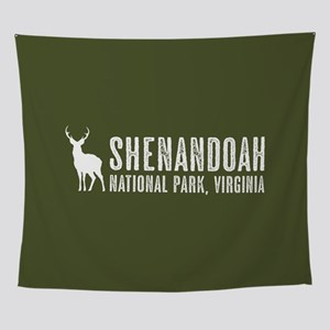 Deer: Shenandoah, Virginia Wall Tapestry