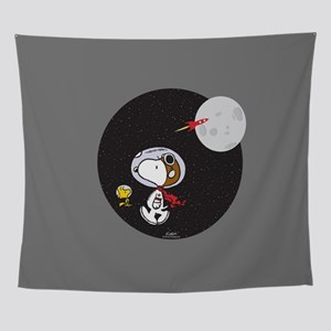 Space Snoopy Wall Tapestry
