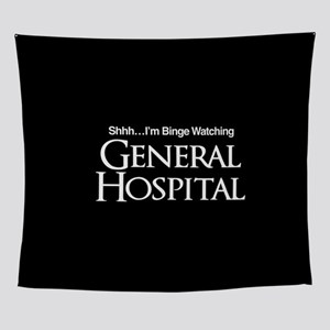 General Hospital Shhh Binge Watching Wall Tapestry