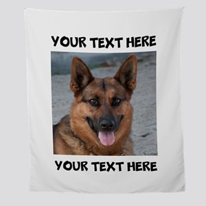 Dog German Shepherd Wall Tapestry