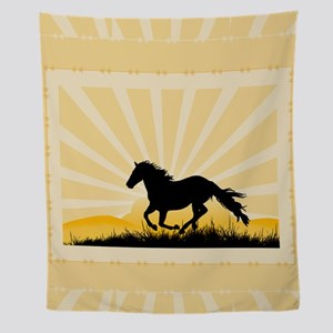 Running Horse 7200 Wall Tapestry