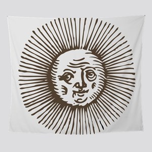 Old Sun - Brn Wall Tapestry