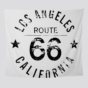 Los Angeles California Route 66 Wall Tapestry