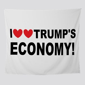 I Love Trump's Economy Wall Tapestry