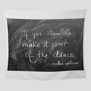 Stumble Made Part of Dance Wall Tapestry