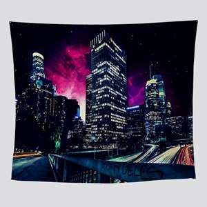 Spacey Los Angeles Wall Tapestry