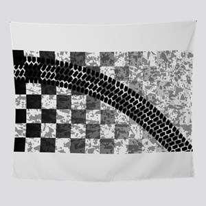 Flag Skid Mark Wall Tapestry
