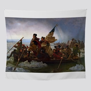 General George Washington Crossing t Wall Tapestry