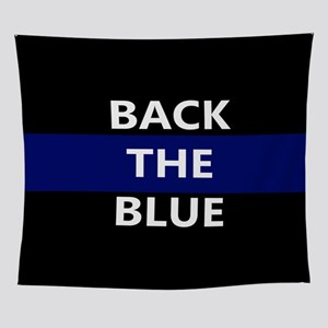 BACK THE BLUE Wall Tapestry