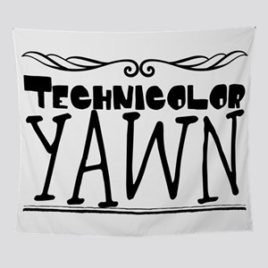 Technicolor Yawn Wall Tapestry