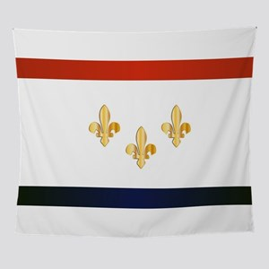 New Orleans City Flag Wall Tapestry