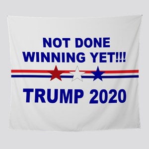 Not done winning yet! Wall Tapestry