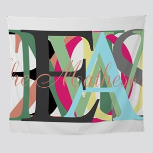 Fonts as Design with Your Initials Wall Tapestry