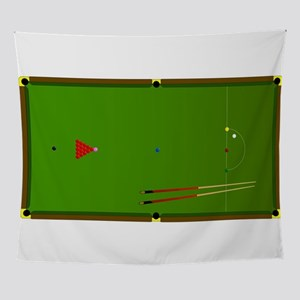 Snooker Table Wall Tapestry