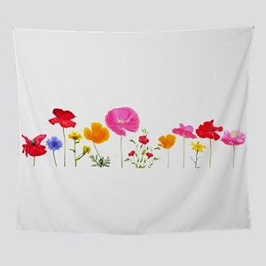 wild meadow flowers Wall Tapestry