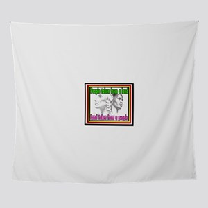 Black American Native American Wall Tapestry