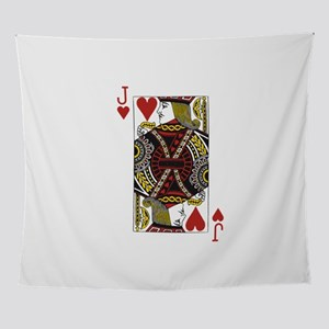 Jack of Hearts Wall Tapestry
