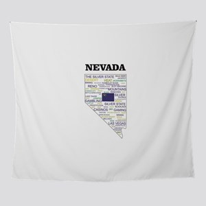 NV WORD STATE Wall Tapestry
