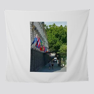 Auckland Flags Walk Wall Tapestry