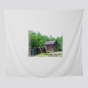 Great Smoky Mountains NP Mingus Mill Wall Tapestry