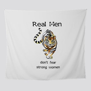 Real Men Wall Tapestry
