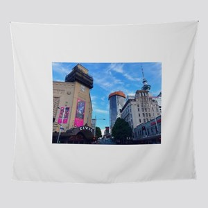 Downtown Auckland Wall Tapestry
