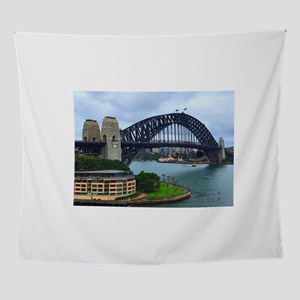 Sydney Travel Path Wall Tapestry