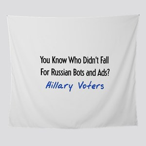 Voted For Hillary Wall Tapestry