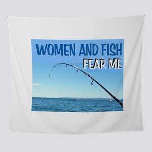 FISH KING Wall Tapestry