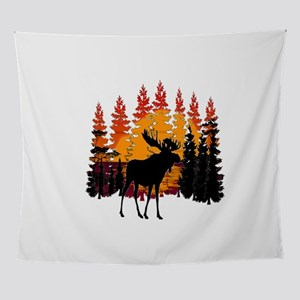 MOOSE LIGHT Wall Tapestry