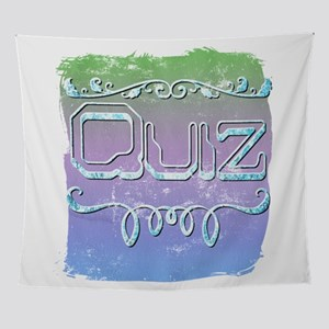 Quiz Wall Tapestry
