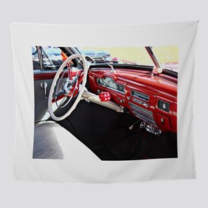 Classic car dashboard Wall Tapestry