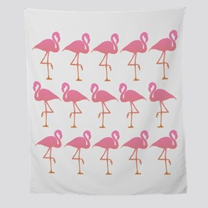 Flamingo Flock Wall Tapestry