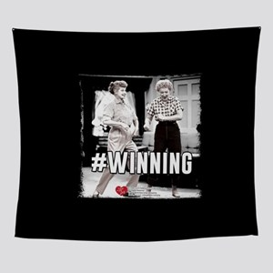 I Love Lucy #Winning Wall Tapestry