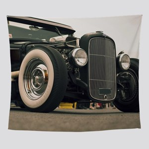 Hot Rod Wall Tapestry