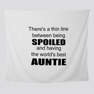 Funny auntie Wall Tapestry