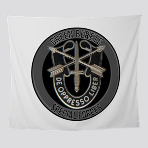 Special Forces Green Berets Wall Tapestry