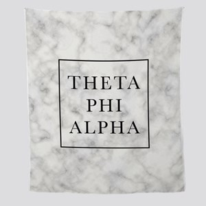 Theta Phi Alpha Marble TP Wall Tapestry